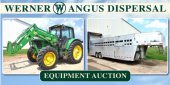 Werner Angus Dispersal Absolute Equipment Auction