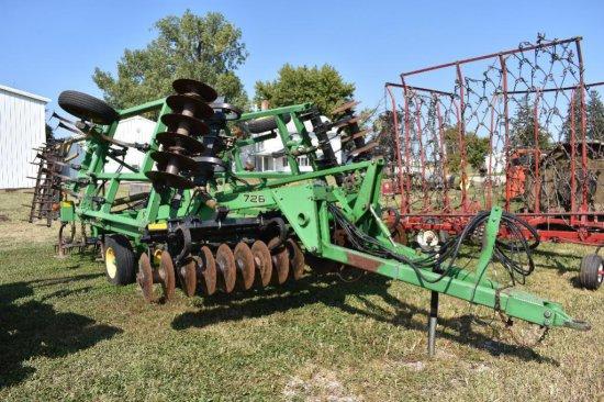 '96 JD 726 20' soil finisher