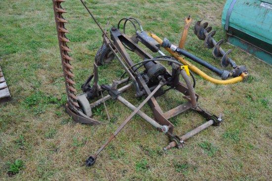 JD mounted sickle bar mower