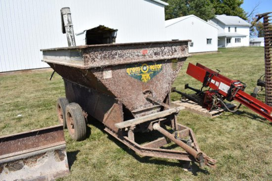 Grain-o-vator auger wagon