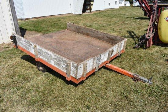 Shopbuilt bumper hitch utility trailer