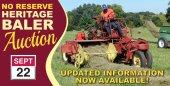 Heritage Baler & Farm Machinery Auction