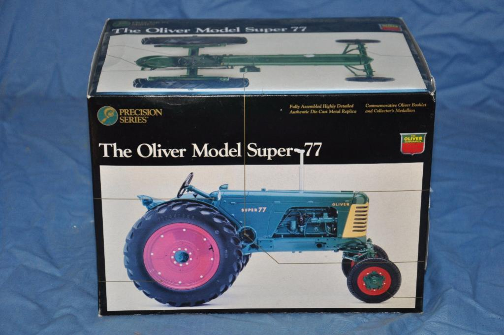 Ertl 1/16 Scale Precision Series Oliver Super 77