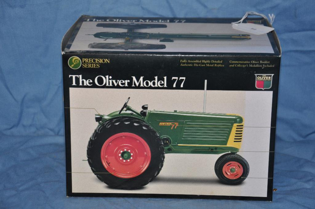Ertl Precision Series 1/16 Scale Oliver Model 77 Tractor