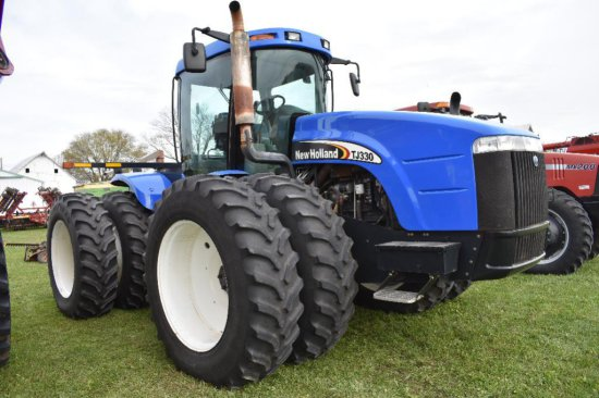'07 New Holland TJ330 4wd tractor