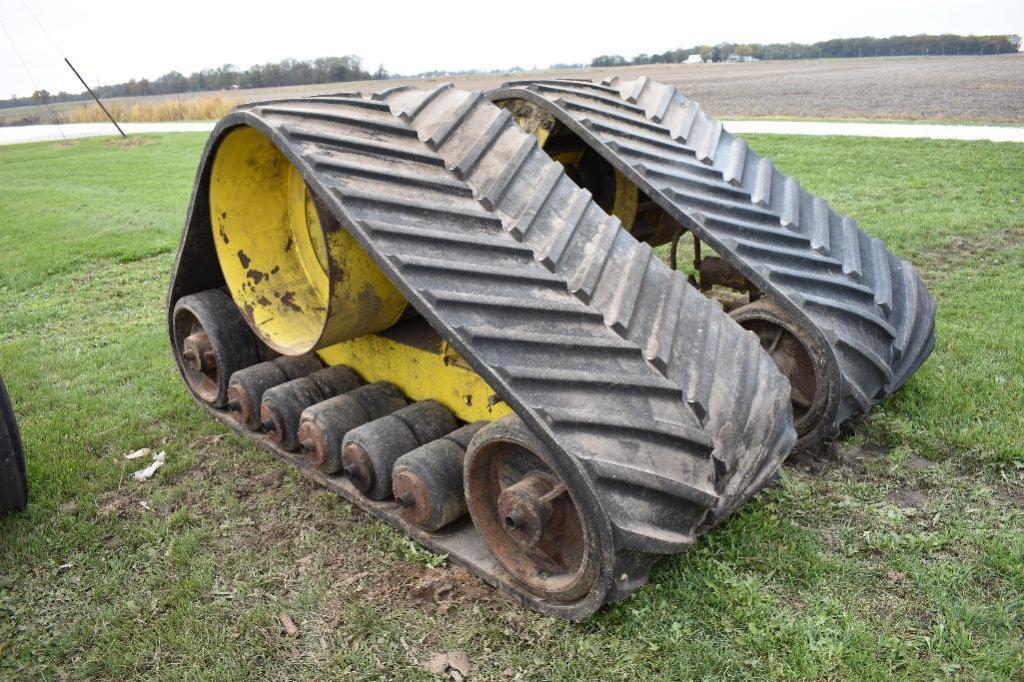 "Grip-Trac 36"" rubber combine tracks"