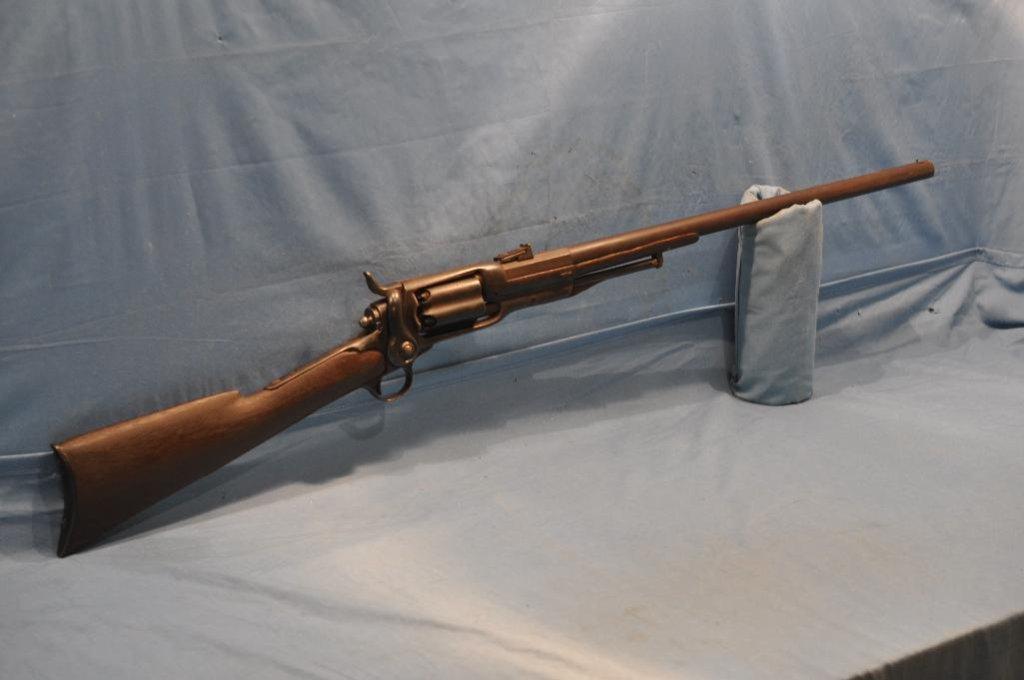 RARE!!! COLT MODEL OF 1855 SIDE HAMMER REVOLVING CYLINDER SHOTGUN