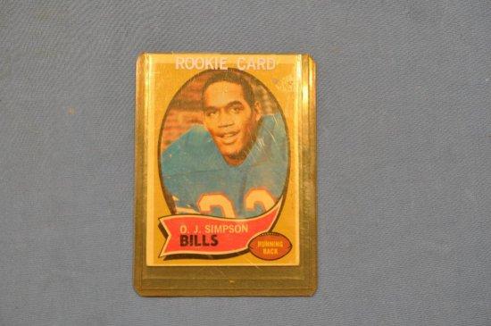 1970 Topps Oj Simpson Rookie Auctions Online Proxibid