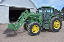 '00 JD 6410 MFWD tractor