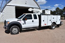 '12 Ford F550 4wd service truck