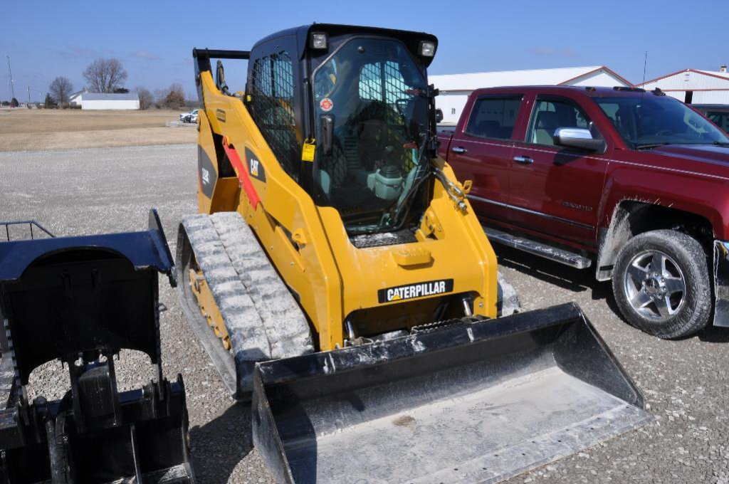 13 Cat 289C2 compact track loader