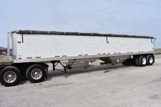 '08 Timpte 42' hopper bottom trailer