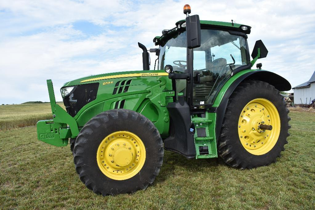 '15 JD 6155R MFWD tractor