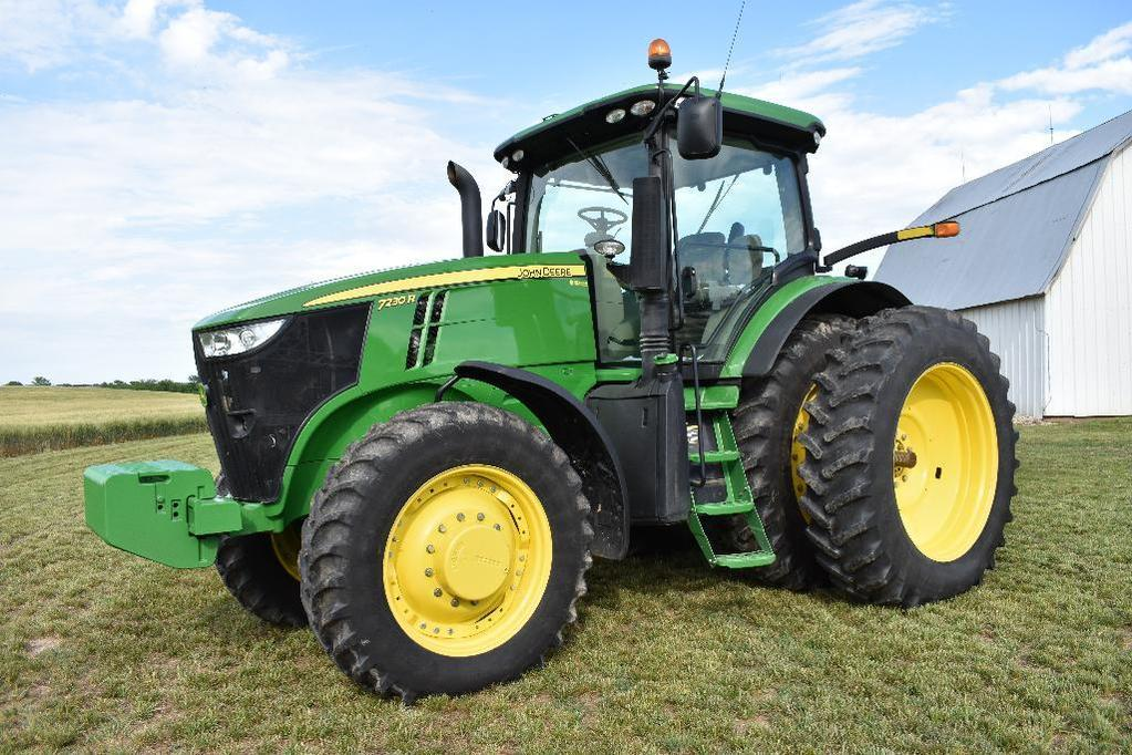 '12 JD 7230R MFWD tractor