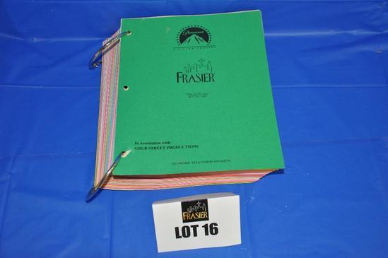 """Paramount """"Frasier"""" script covers"""