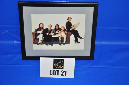 """Original photograph from the set of """"Frasier"""""""