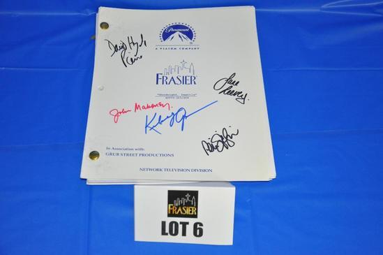 """Original Paramount """"Frasier"""" scripts"""