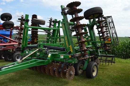 Great Plains 2400TT 22' Turbo-Till vertical tillage tool