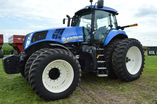 '12 NH T8.300 MFWD tractor