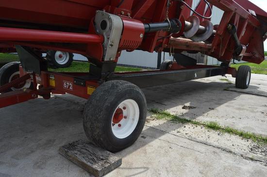 EZ-Trail 672 20' head trailer