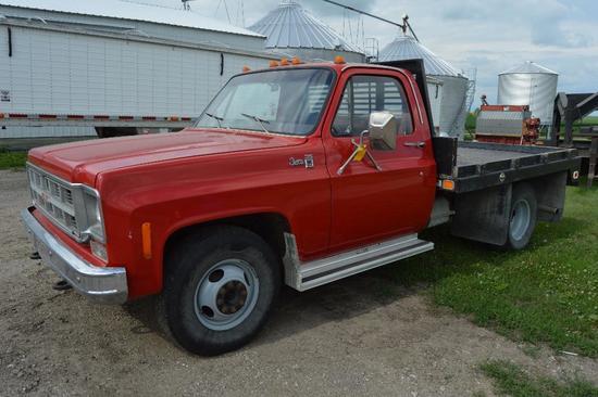 '78 GMC 35 2wd dually pickup