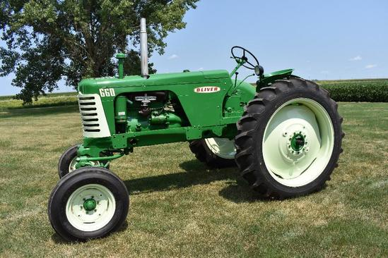 '61 Oliver 660 tractor