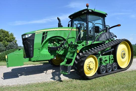 '15 JD 8370RT track tractor