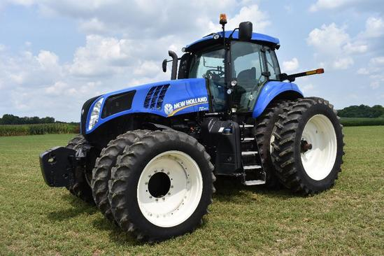 '13 NH T8.360 MFWD tractor