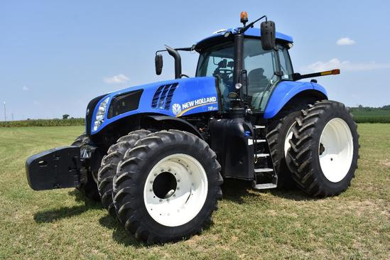 '16 NH T8.320 MFWD tractor