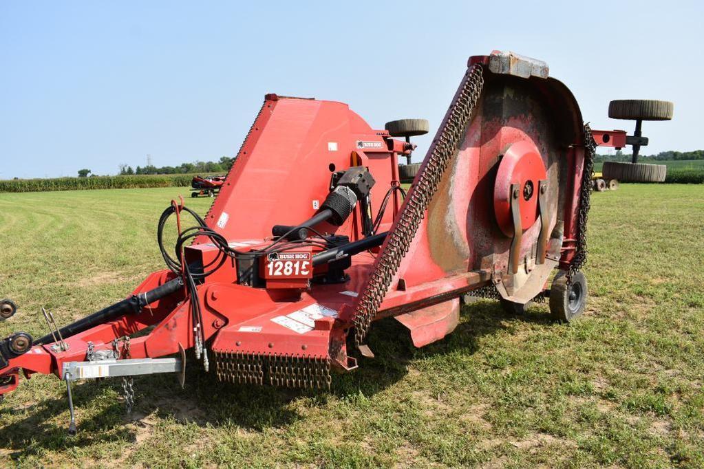 Bush Hog 12815 15' batwing mower