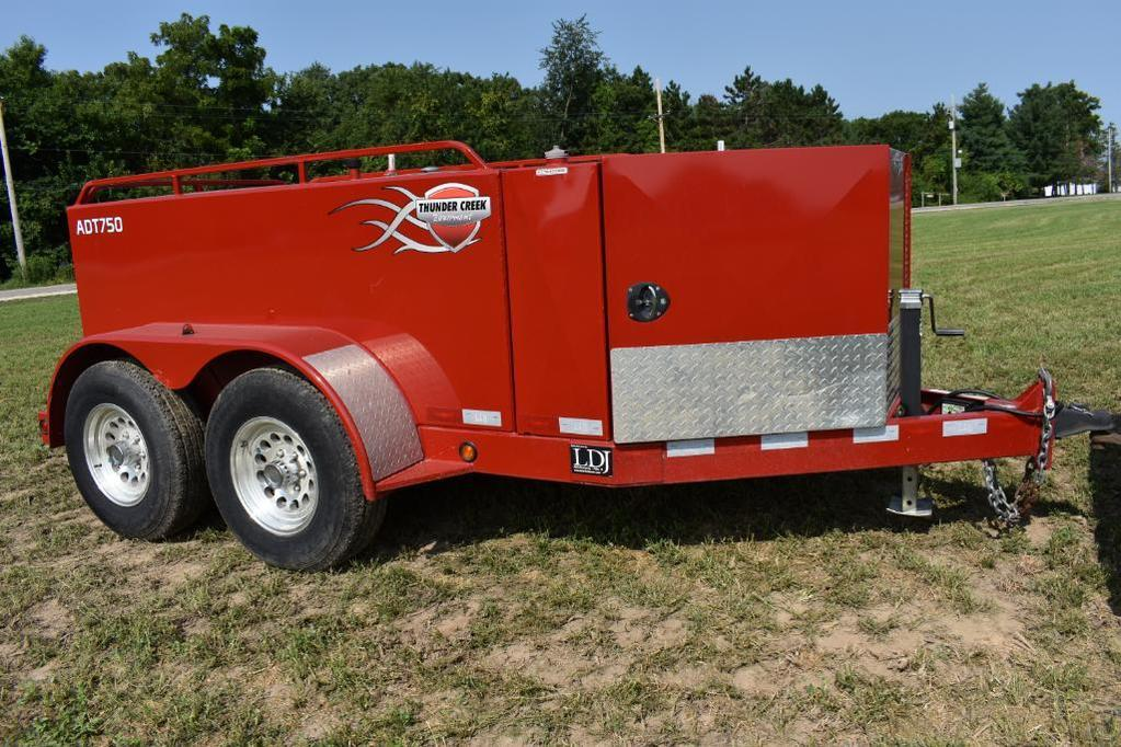 '13 Thunder Creek ADT750 fuel trailer