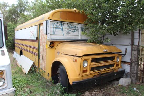1968 CHEVY C50 SCHOOL BUS   Collector Cars Classic & Vintage