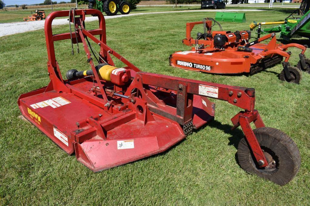 Lot: Brown Mfg  TCF-2615 7' heavy duty tree cutter | Proxibid Auctions