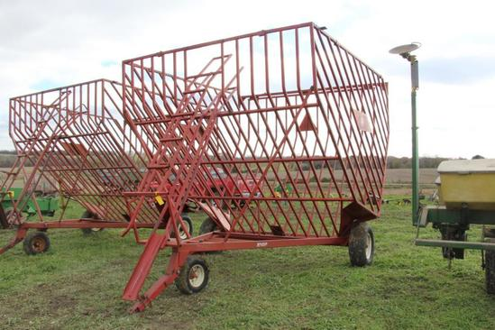 EZ Trail Bale Accumulator | Farm Machinery & Implements Hay