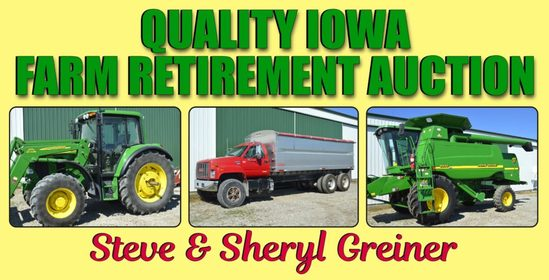 Greiner No-Reserve Farm Retirement Auction