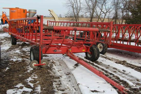 EZ-Trail CF890 20' hay carrier-feeder wagon