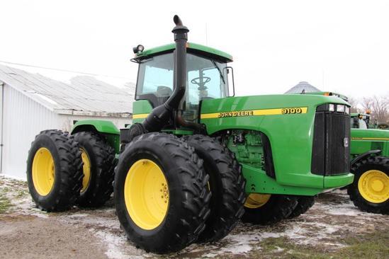 1998 John Deere 9100 4wd tractor