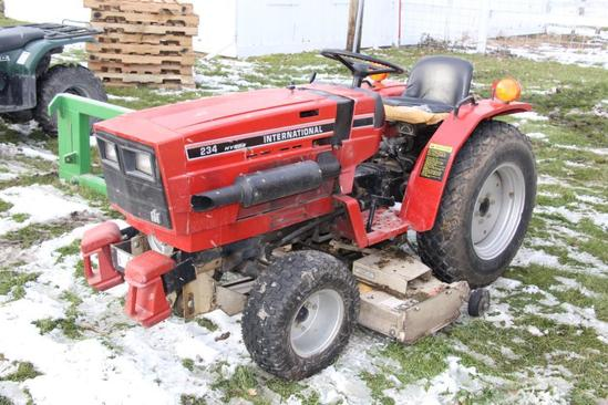 International Harvester 234 2wd diesel compact utility tractor