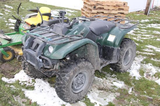 Yamaha Kodiak 350 4wd ATV
