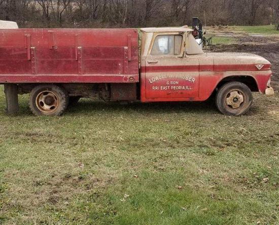 '63 GMC 1-ton grain truck