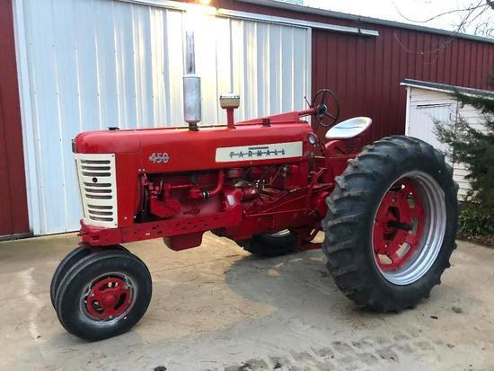 1957 Farmall 450 tractor