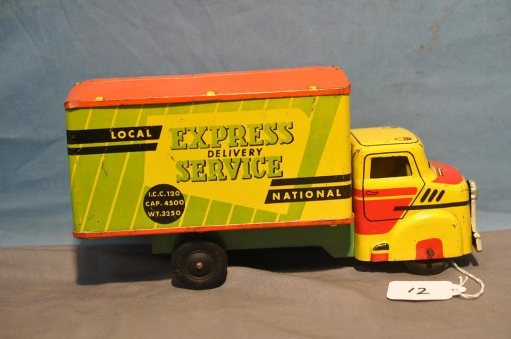 "9.5"" LONG WYANDOTTE DELIVERY TRUCK"