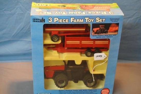 ERTL 1/32ND SCALE CASE-IH3-PC FARM TOY SET