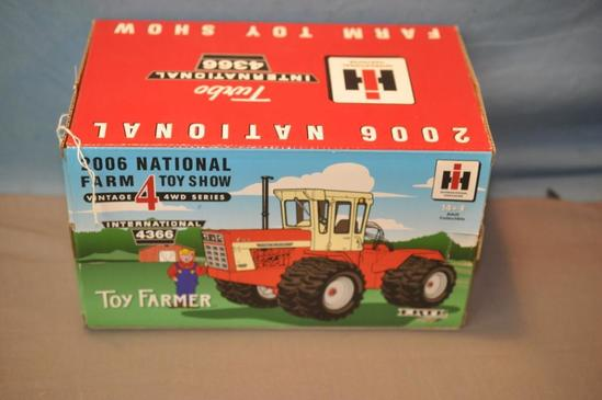ERTL 1/32ND SCALE IH 4366 4WD TRACTOR, 2006 FARM TOY SHOW