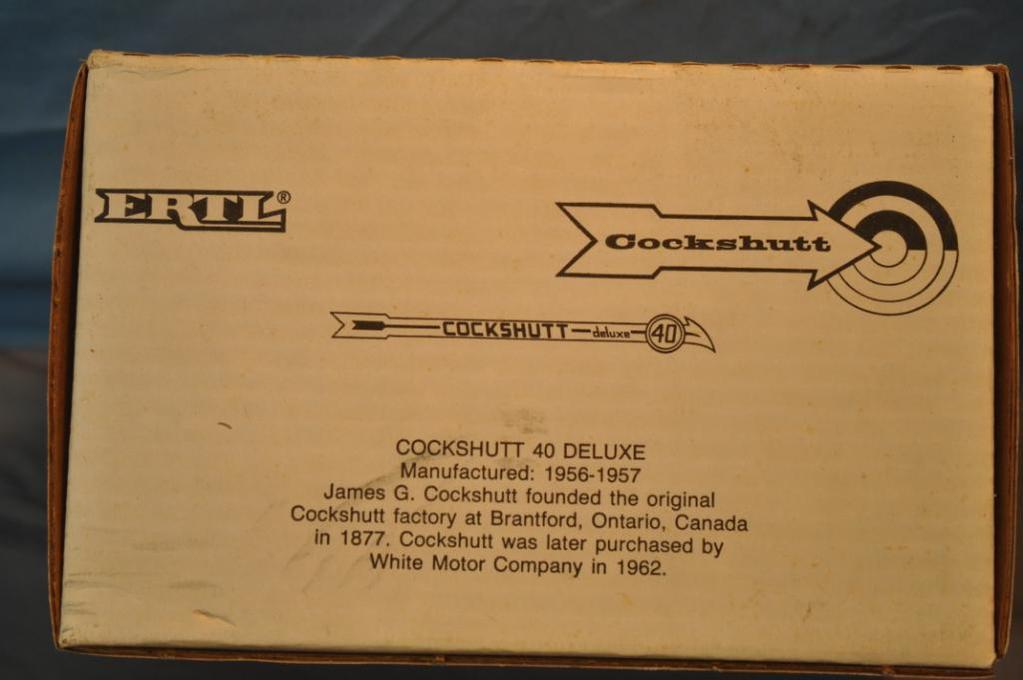 ERTL 1/16TH SCALE COCKSHUTT DELUXE 40 TRACTOR