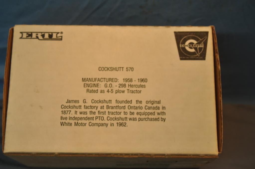 ERTL 1/16TH SCALE COCKSHUTT 570 TRACTOR