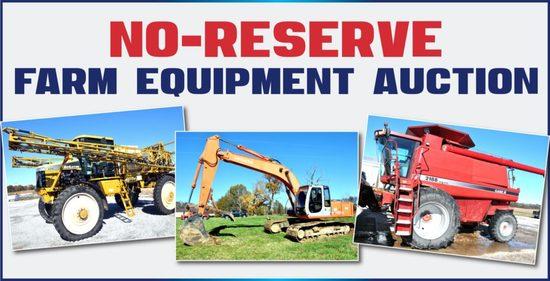 Connaway No-Reserve Farm Equipment Auction