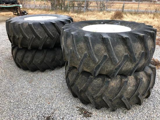 Floater tires off Rogator 874 sprayer