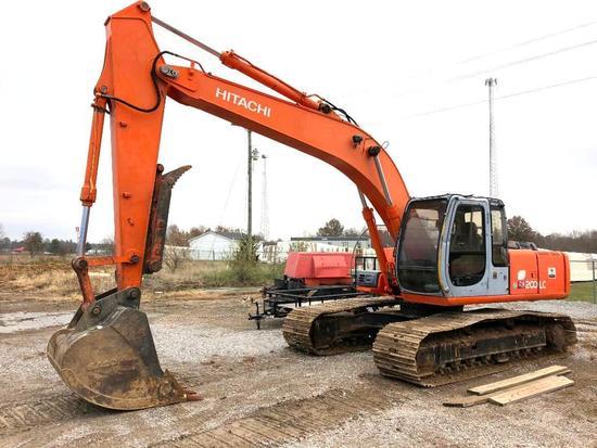 2000 Hitachi EX200LC-5 excavator