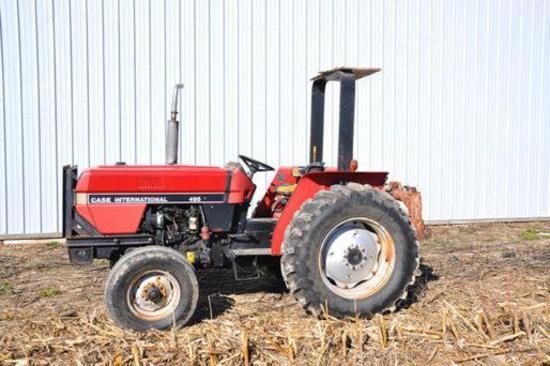 Case IH 495 diesel tractor